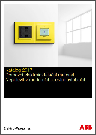 nov katalog abb s r o elektro praga 2017 elima elektroinstala n materi l. Black Bedroom Furniture Sets. Home Design Ideas
